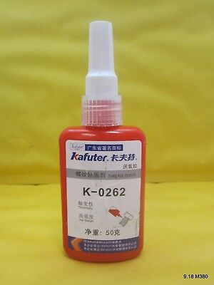 50ml Kafuter Threadlocker K-0262 Adhesive Glue Prevent Oxidation for Screw Use