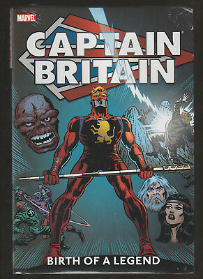 Captain Britain Volume 1 Birth of a Legend Marvel Oversized Deluxe Hardcover