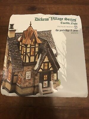 Department 56 Dickens' Village Partridge and Pear Lit House, 4025253