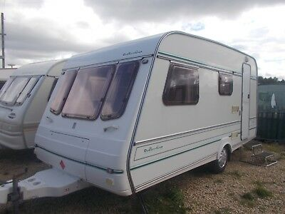 1994 compass reflection merit 430/4 4 berth real nice caravan