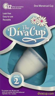 The Diva Cup Model 2 Menstrual CUP BRAND NEW SEALED