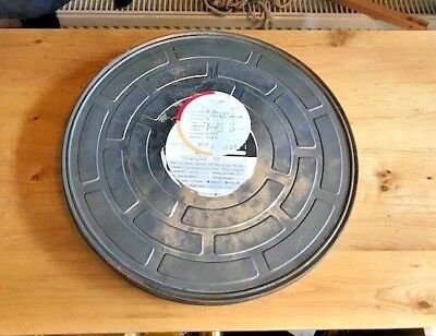 movie film reel canister.