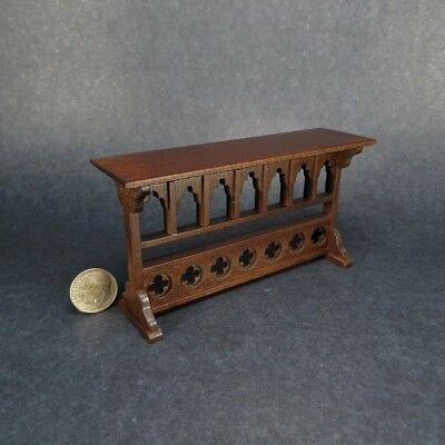 Miniature Dollhouse NICE Gothic Console Table  OOAK Artisan Made
