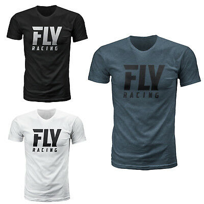 Fly Racing Logo Men's Tee Shirt