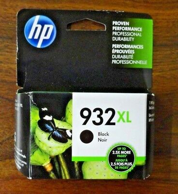NEW IN THE BOX HP 932XL HY Black Ink Cart CN053AN GENUINE Free Shipping