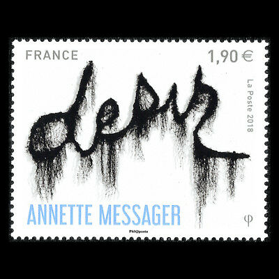 France 2018 -  Desir by Anette Messager Art - MNH