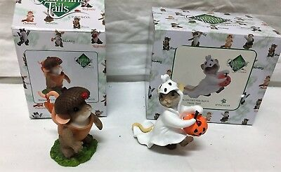ENESCO Charming Tails Halloween Theme With Boxes