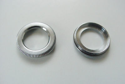 Leica IIIg rangefinder camera  - small front window trim ring - new parts
