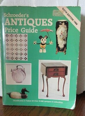 Schroeder's Antique Price Guide Over 50,000 Antiques & Collectibles.