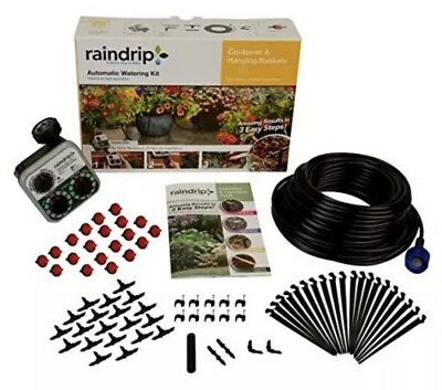 Raindrip R560DP Auto Container Hanging Baskets Watering System Drip Irrigation