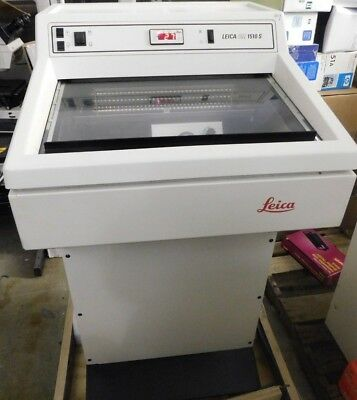 Leica CM 1510S-3 Cryostat for routine Histology and Mohs Surgery