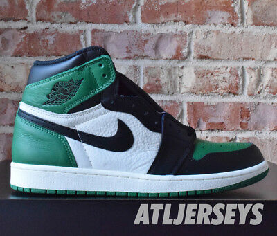 Nike Air Jordan 1 Retro High OG Pine Green Sail Black 555088-302