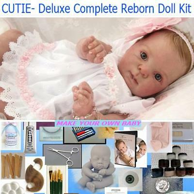 Cutie Reborn Complete Deluxe starter kit to make your own reborn baby doll