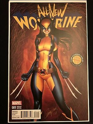 All New Wolverine 1 1st X-23 as Wolverine J Scott Campbell Variant Color