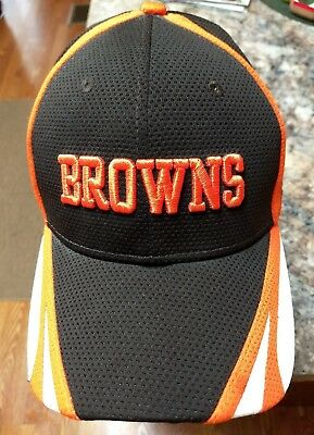 NEW NFL CLEVELAND Browns 39THIRTY Color Rush Mens New Era Flex Fit ... 028f41066
