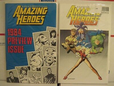 Amazing Heroes 35 39 Power Pack 1 Preview Black Venom Spider-Man 24 Issue Lot