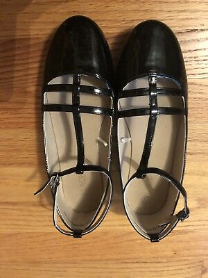 Childrens Place Black Girls Shoes Size 6