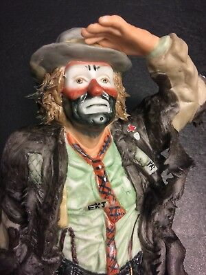 Emmett Kelly Jr Looking Out To See #8697 Of 12000 Original Box Perf Cond