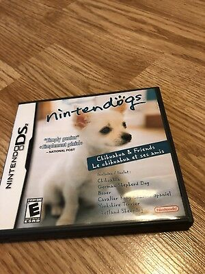 Nintendogs: Chihuahua & Friends (Nintendo DS, 2005) Works - VC2