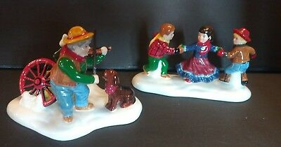 Department Dept 56 Christmas Snow Village collectible Village Barn Dance