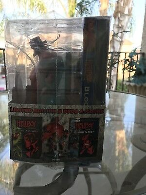 HellBoy Movie Limeted Edition With Figurin Of HellBoy