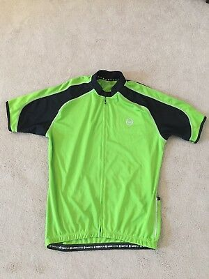 Men's Canari Large Cycling Shirt with Zip front and back pockets
