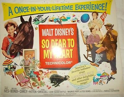 Disney So Dear to My Heart Title lobby card (second release)