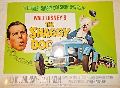 Disney The Shaggy Dog re-release title lobby card