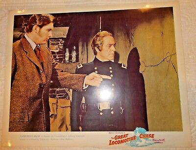 Disney The Great Locomotive Chase original release lobby card A perilous plot