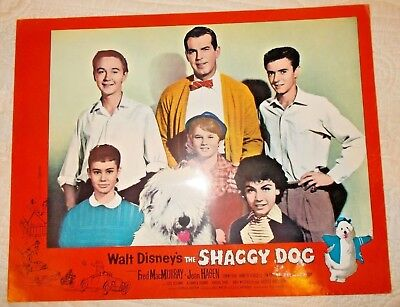 Disney The Shaggy Dog Cast Lobby card original release date