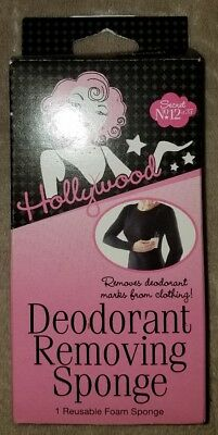 Hollywood Fashion Secrets Deodorant Removing Sponge