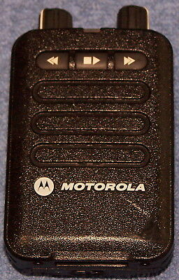 Motorola Minitor Vi**uhf** 1 Channel Pager W/voice**used**no Charger