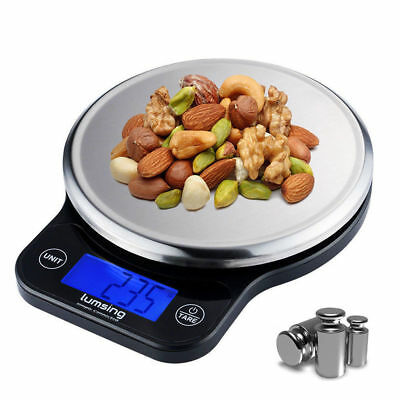 Digital LCD Electronic Kitchen Scale 6kg Stainless Steel Cooking Food Weighing