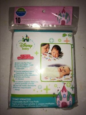Disney Baby Tiny Toppers Multi-Use Pads 10 Ct Neat Solutions