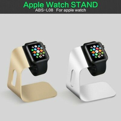 Aluminum Charging Dock Stand Station Charger Holder For Apple iWatch 38/42mm