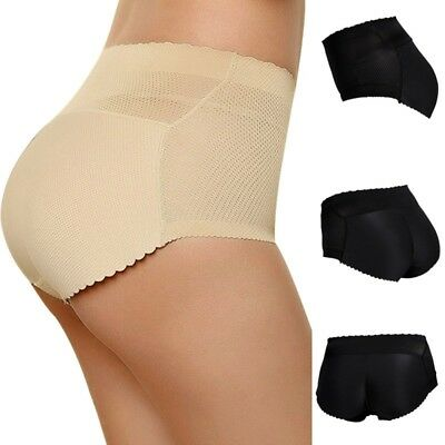 Women Buttock Padded Underwear Bum Butt Lift Hip Up Enhancer Brief Shapewear US