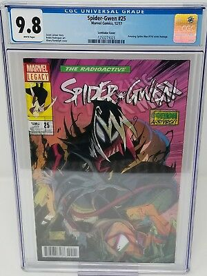 Spider-Gwen #25 Lenticular Cover Amazing Spider-Man #316 Homage Cover CGC 9.8