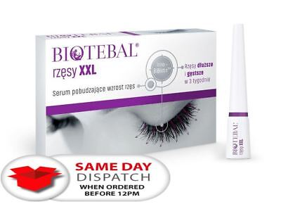 Biotebal XXL 3 ml Eyelashes Growth Conditioner Serum do Rzes