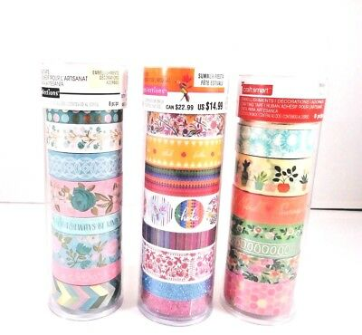 Recollections and Craft smart Crafting Washi Glitter Foil Tape Retail: $14.99ea