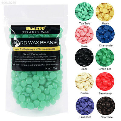 66AD Depilatory Hard Wax Waxing Bikini Hair Removal Bean 100G Perfect Gifts