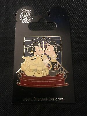 Mickey and Minnie as Disney Couples - Beauty and the Beast Disney pin 61539