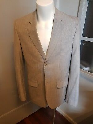 Kenji Mens sports jacket coat faun excellent condition size small. VGC