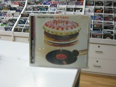 The Rolling Stones Cd Italy Let It Bleed 2002