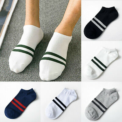 5 Pairs Mens Sports Socks Crew Ankle Low Cut Casual Soft Cotton Breathable AU