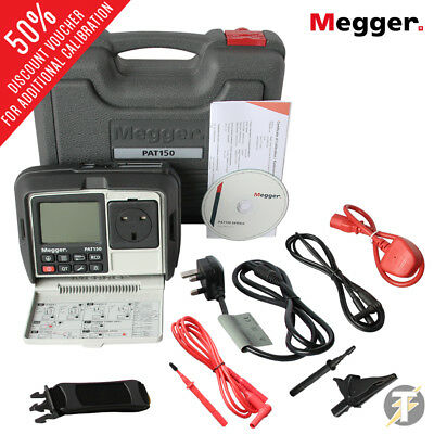 Megger PAT 150R - Rechargable Hand Held Portable Appliance Tester with RCD Test