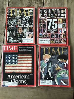 Time Magazine 1997-1998 Lot Of 4