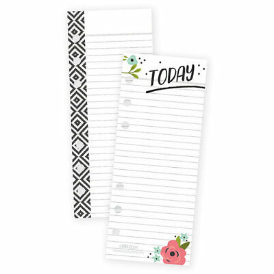 Simple Stories Carpe Diem Mini Bookmark Punched Tablets Personal Planner Inserts