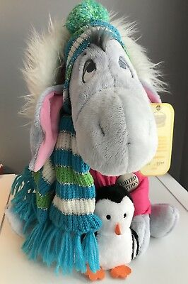 Disney Store Exclusive Limited Edition 2008 Winter Eeyore with tags 86 - 4500