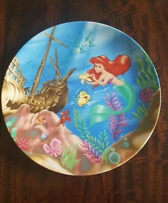Disney The Little Mermaid Collector Plate A Song From The Sea