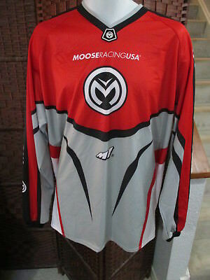 NWT Moose Racing USA Motocross Shirt M1 Dirt Bike Mens XL Long Sleeve Motorcycle